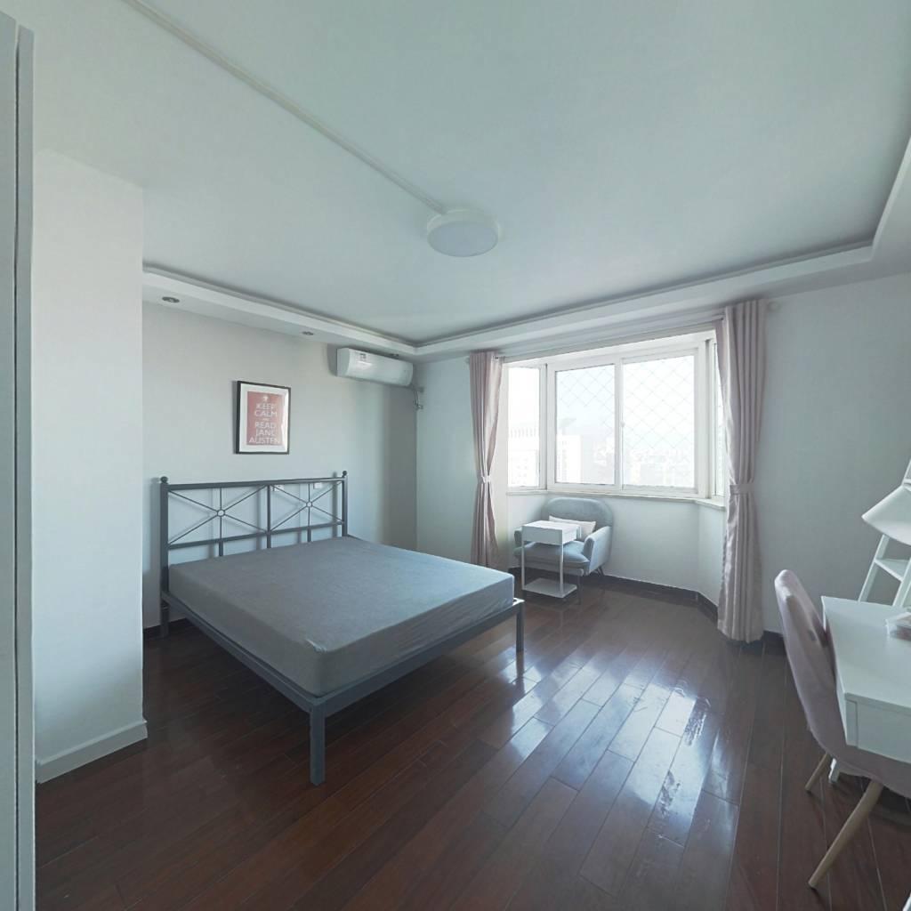 合租·新悦家园 4室1厅 北卧室图