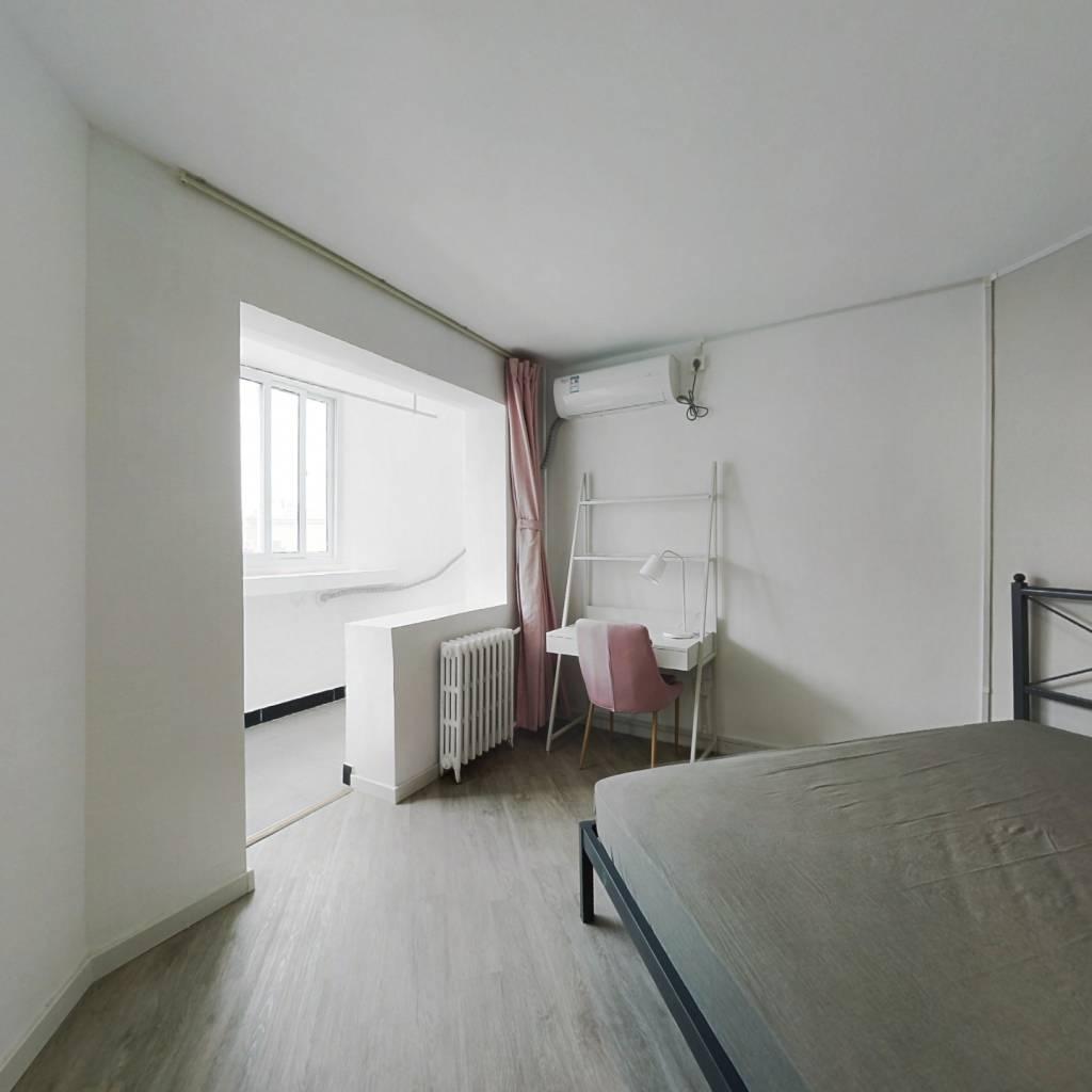 合租·双旗杆东里 3室1厅 北卧室图