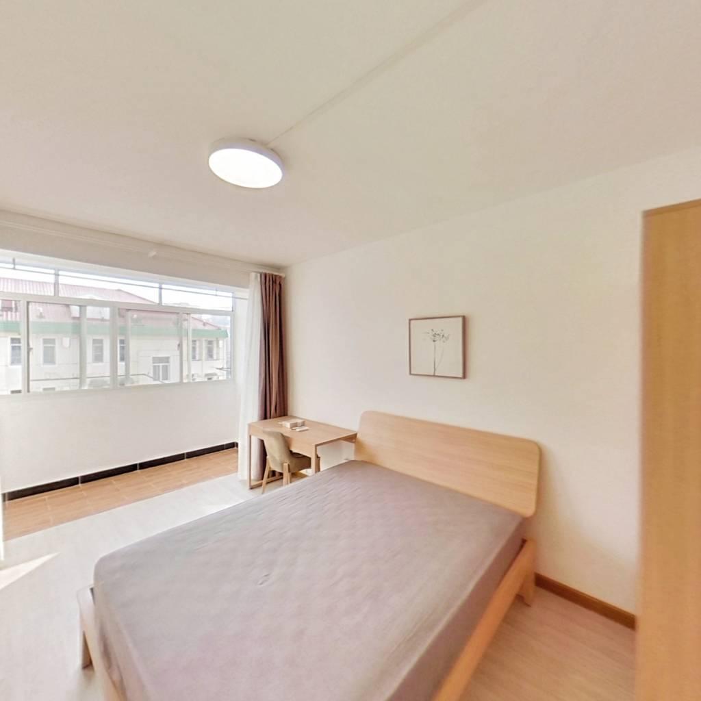 整租·紫叶花园 1室1厅 南卧室图