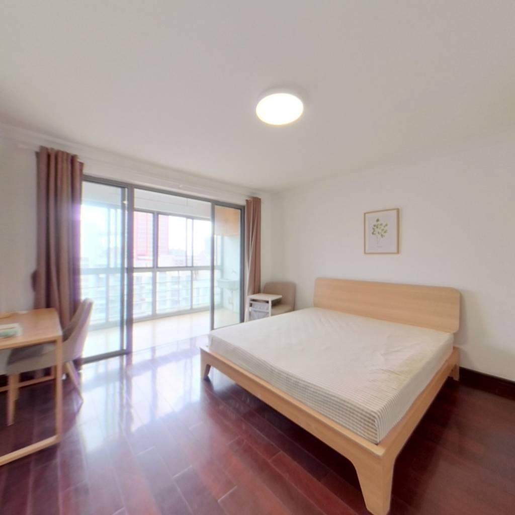 合租·春之声公寓 4室1厅 南卧室图