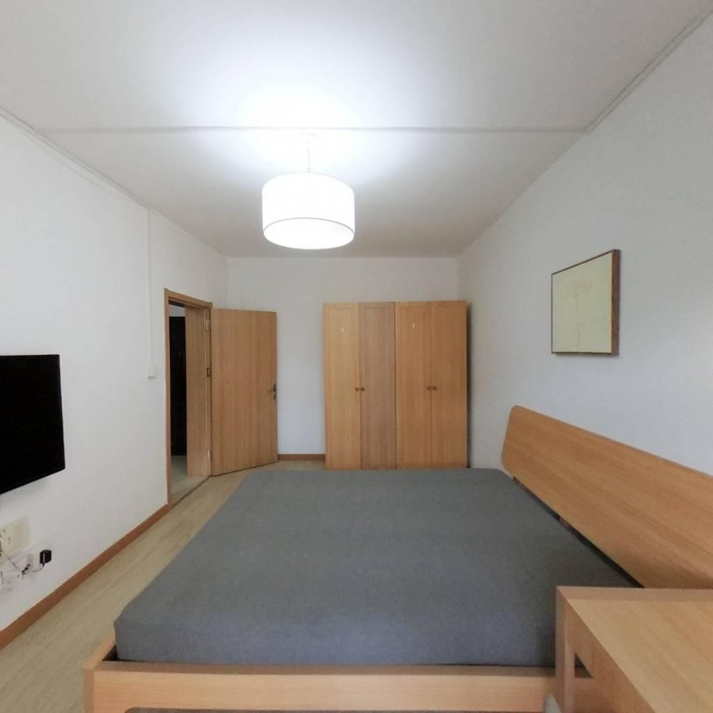 整租·建新北区 2室1厅 南卧室图