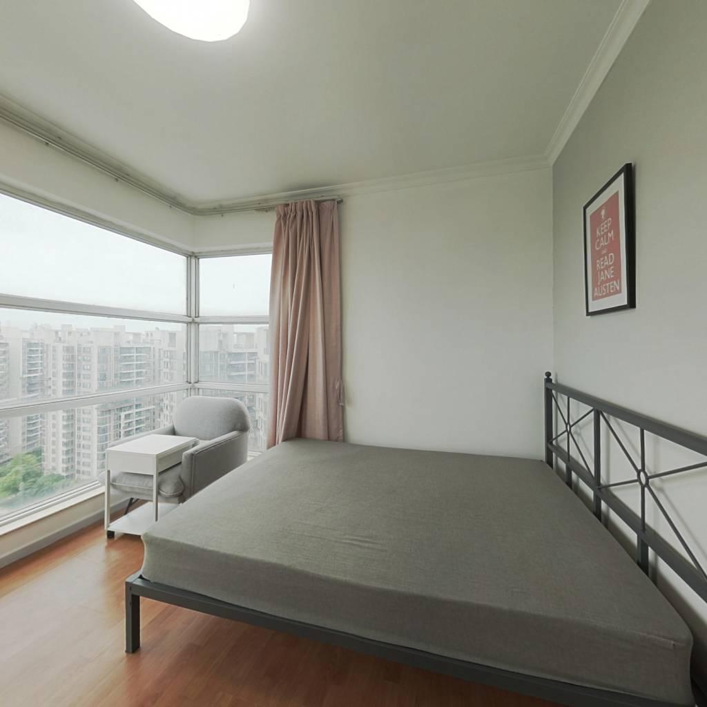 合租·富力院士庭 3室1厅 西卧室图