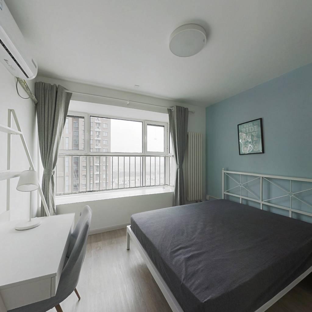合租·华远波士顿 3室1厅 南卧室图