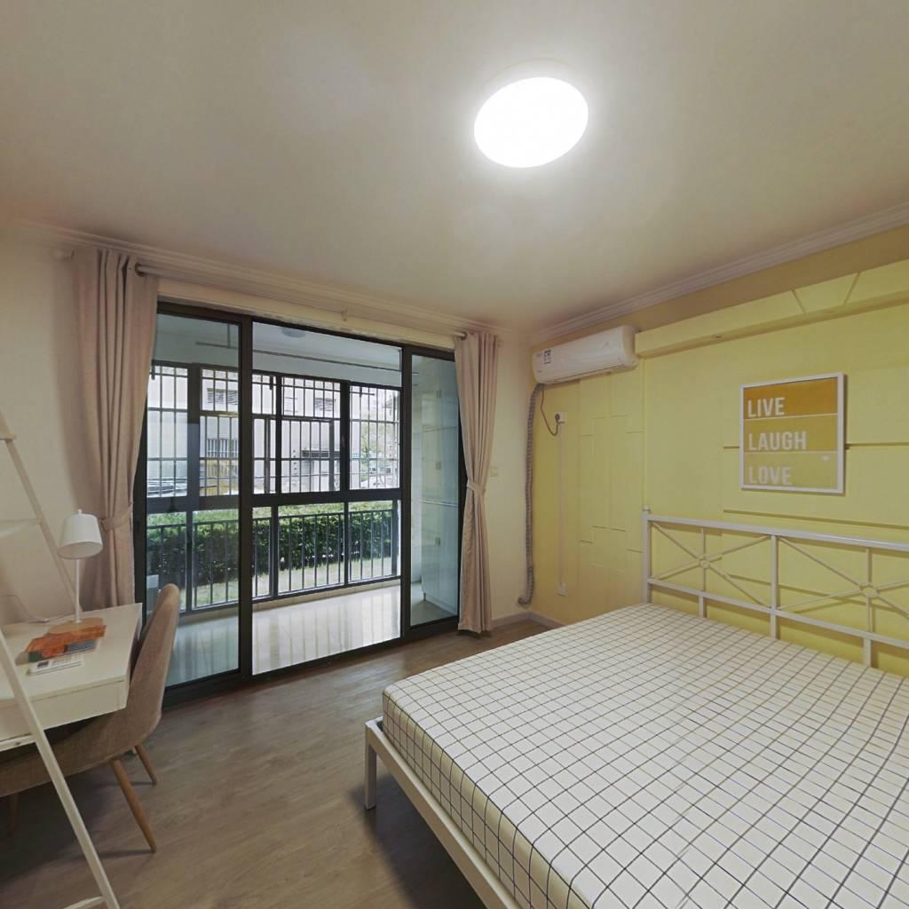 合租·浦江世博家园十街坊 3室1厅 北卧室图