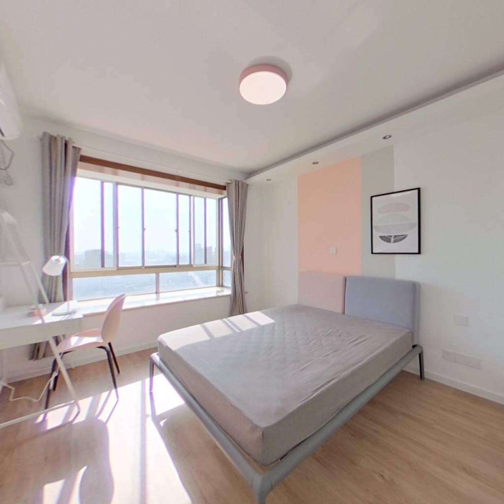 合租·光鸿苑 4室1厅 南卧室图
