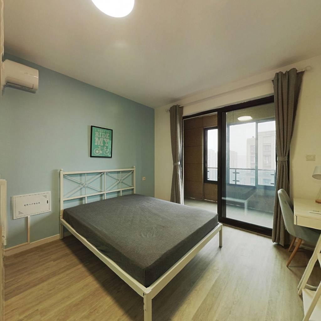 合租·绿地清猗园(威廉公馆二期) 3室1厅 南卧室图