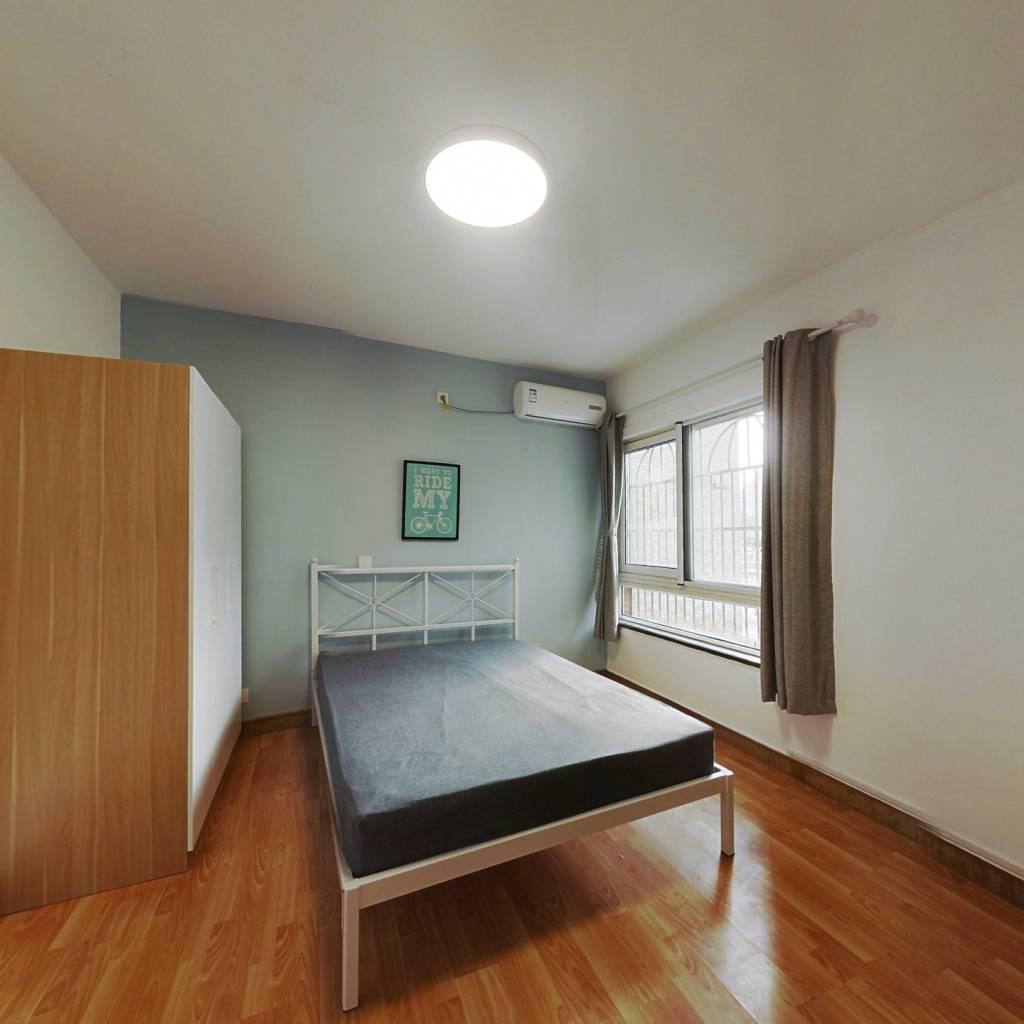 合租·新安公寓 4室1厅 西卧室图