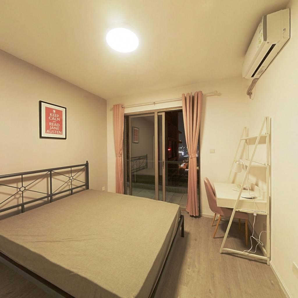合租·南城都汇汇曦园三期 4室1厅 西卧室图