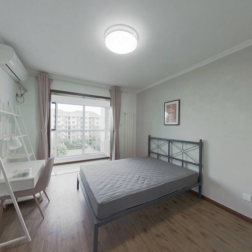 合租·津尚花园 4室1厅 南卧室图