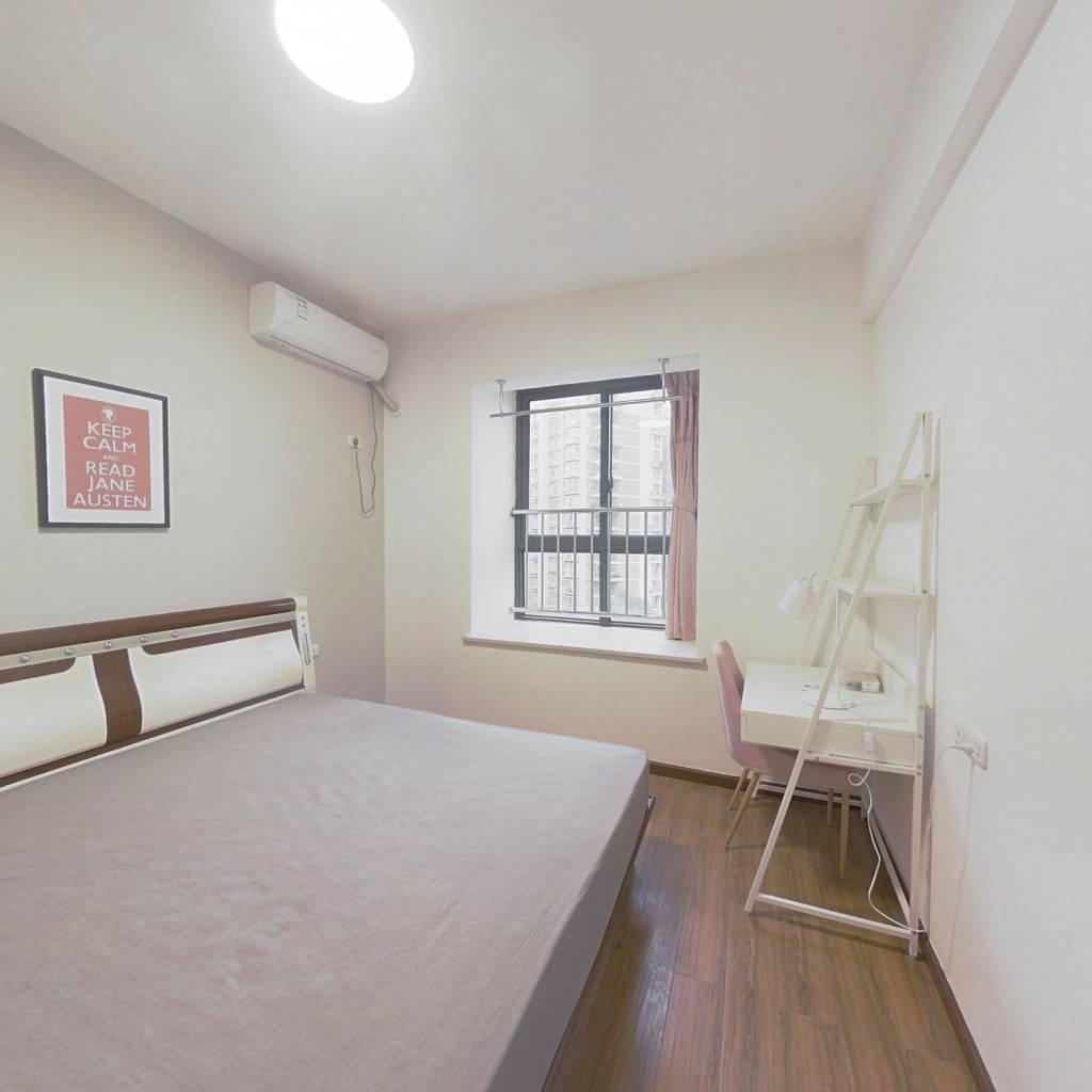 合租·阳光在线二期 4室1厅 南卧室图