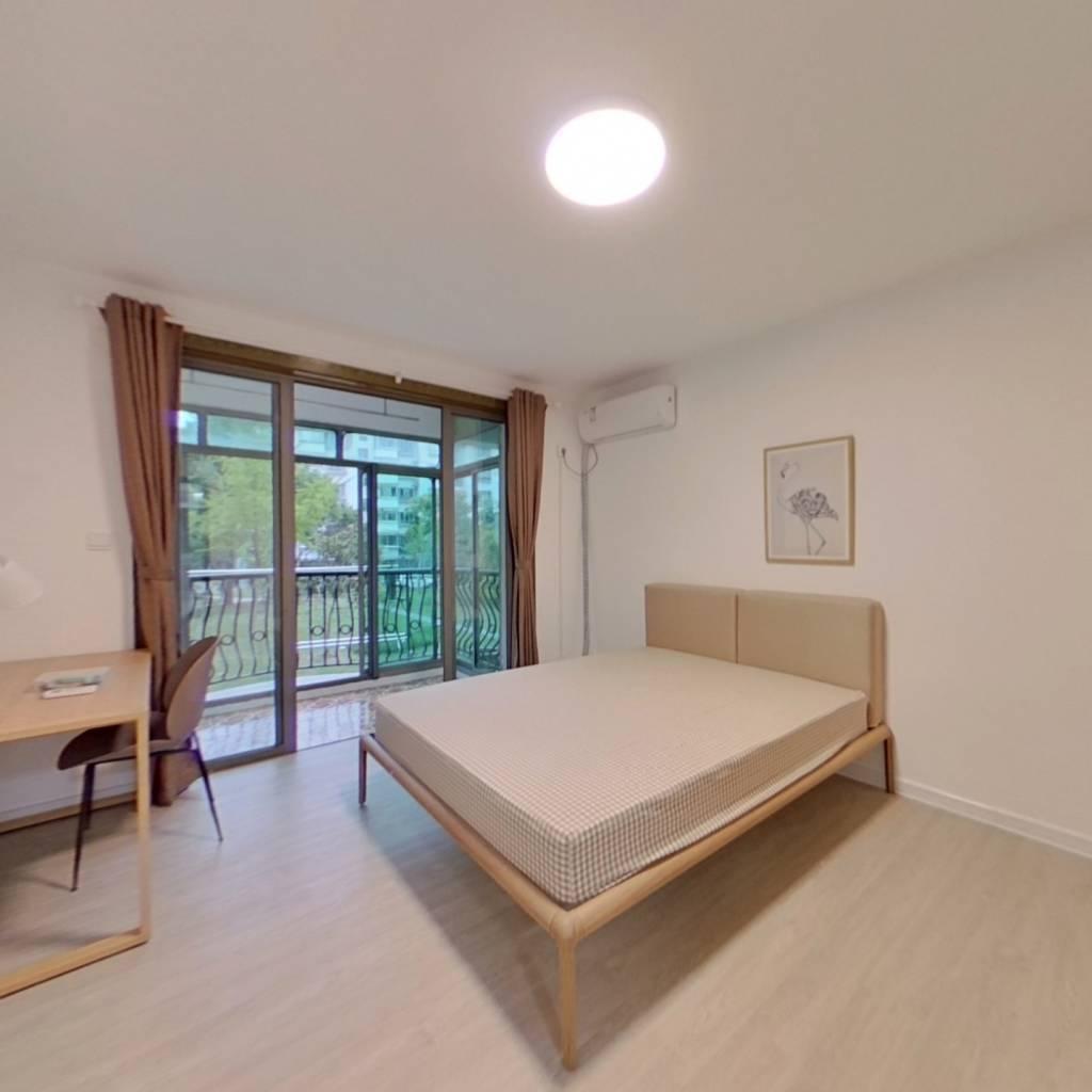 合租·浦发绿城西泰林路850弄 3室1厅 北卧室图