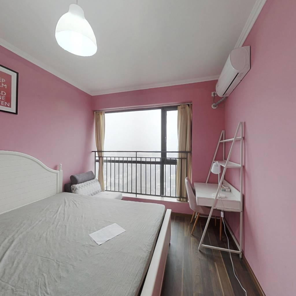 合租·绿地GIC贰期 4室1厅 西卧室图