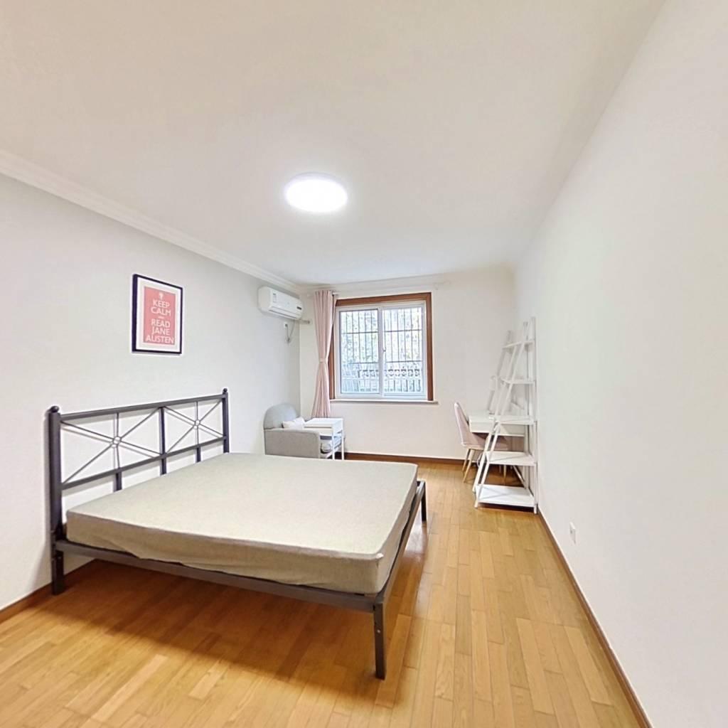 合租·典雅公寓 3室1厅 北卧室图