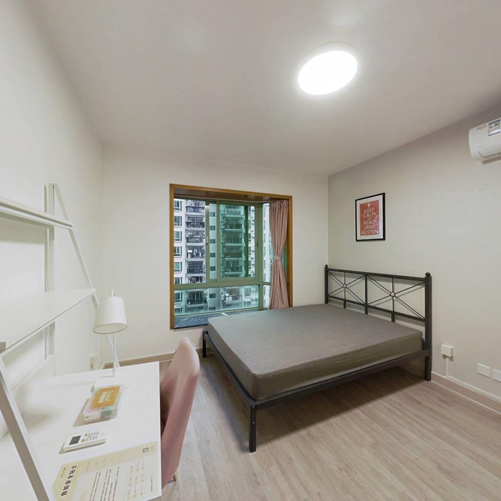 合租·麒麟花园A区 4室1厅 南卧室图