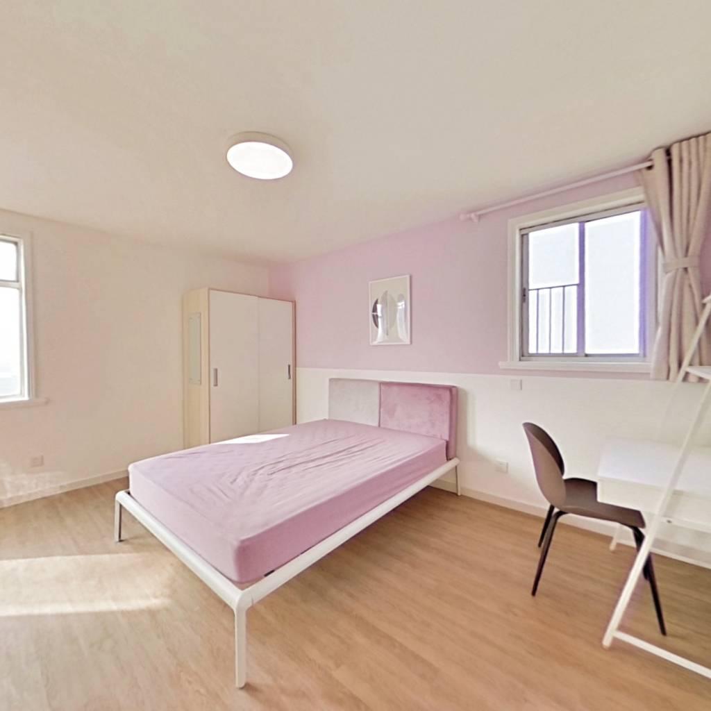 合租·明珠花苑(浦东) 4室1厅 南卧室图