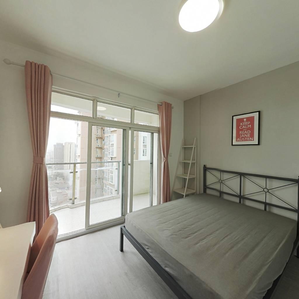 合租·红枫岭三期 4室1厅 北卧室图