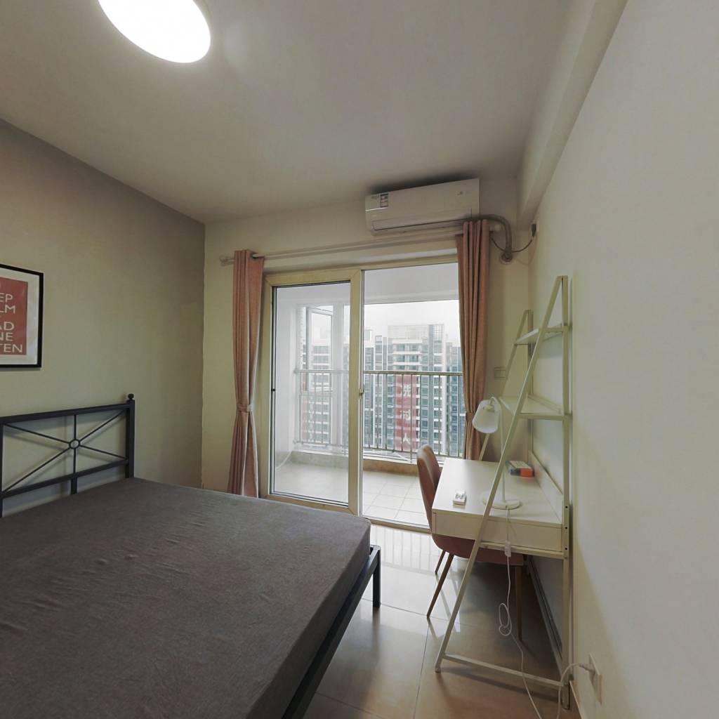 合租·盈嘉花园 4室1厅 西卧室图