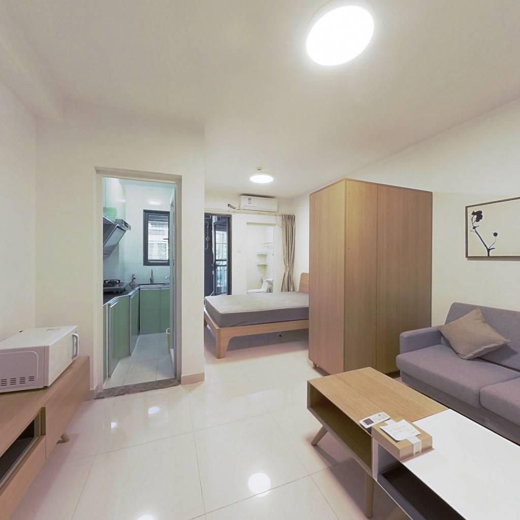 整租·大冲新城花园 1室1厅 南卧室图