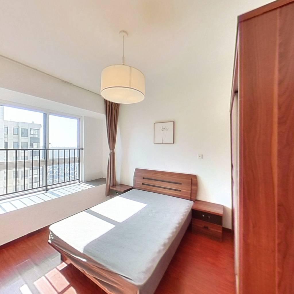 整租·松江颐景园(公寓) 2室1厅 南卧室图