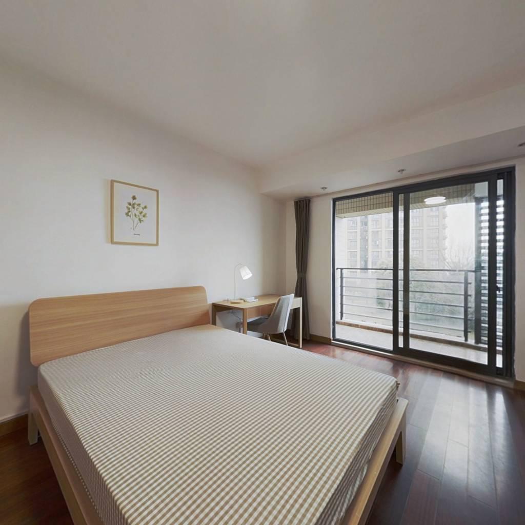 合租·通和戈雅公寓 4室1厅 北卧室图