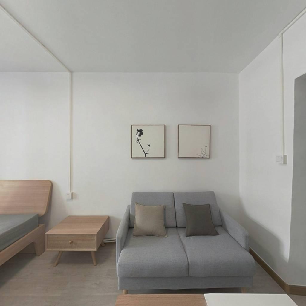 整租·级升里 1室1厅 南卧室图