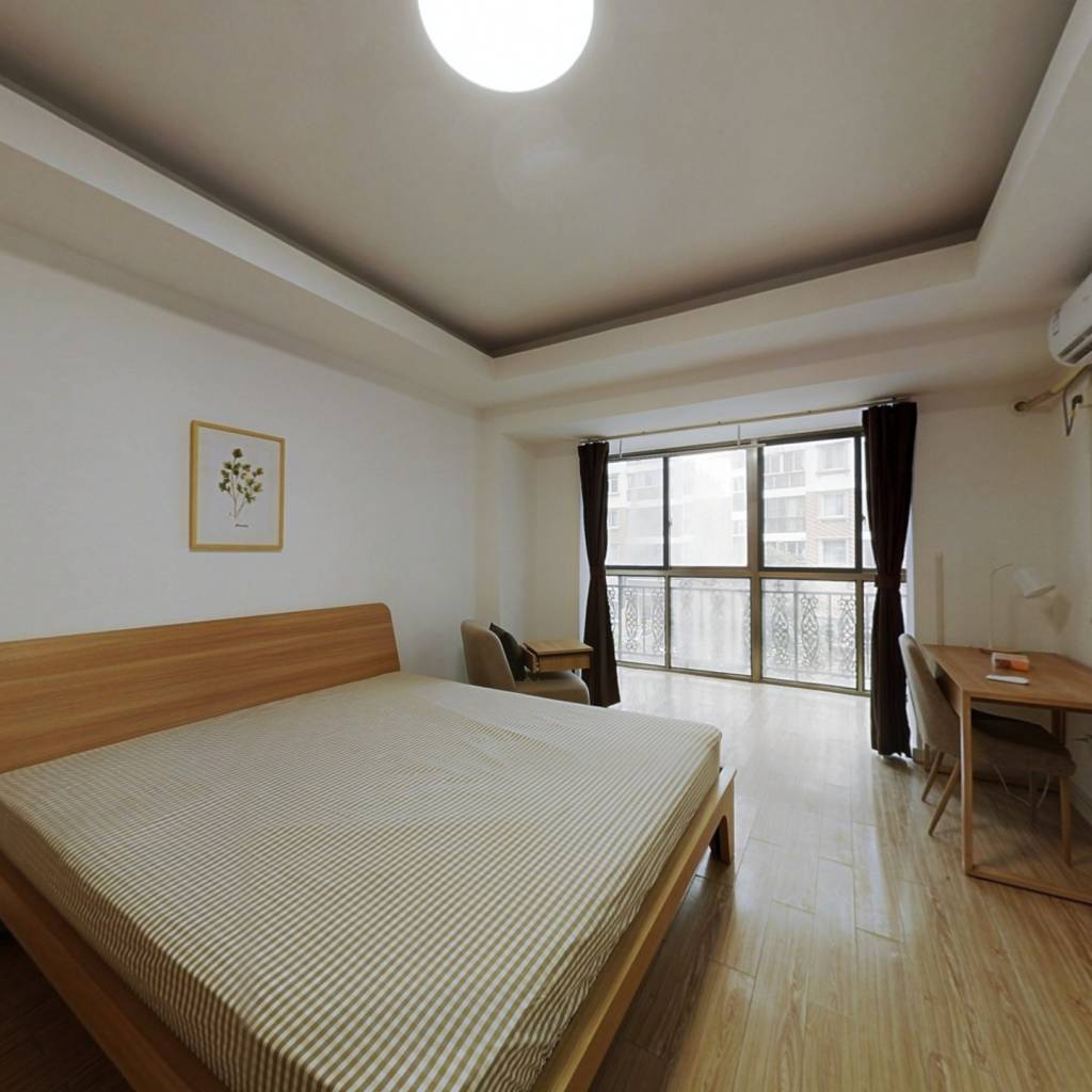 合租·中奇香港花园 4室1厅 西卧室图