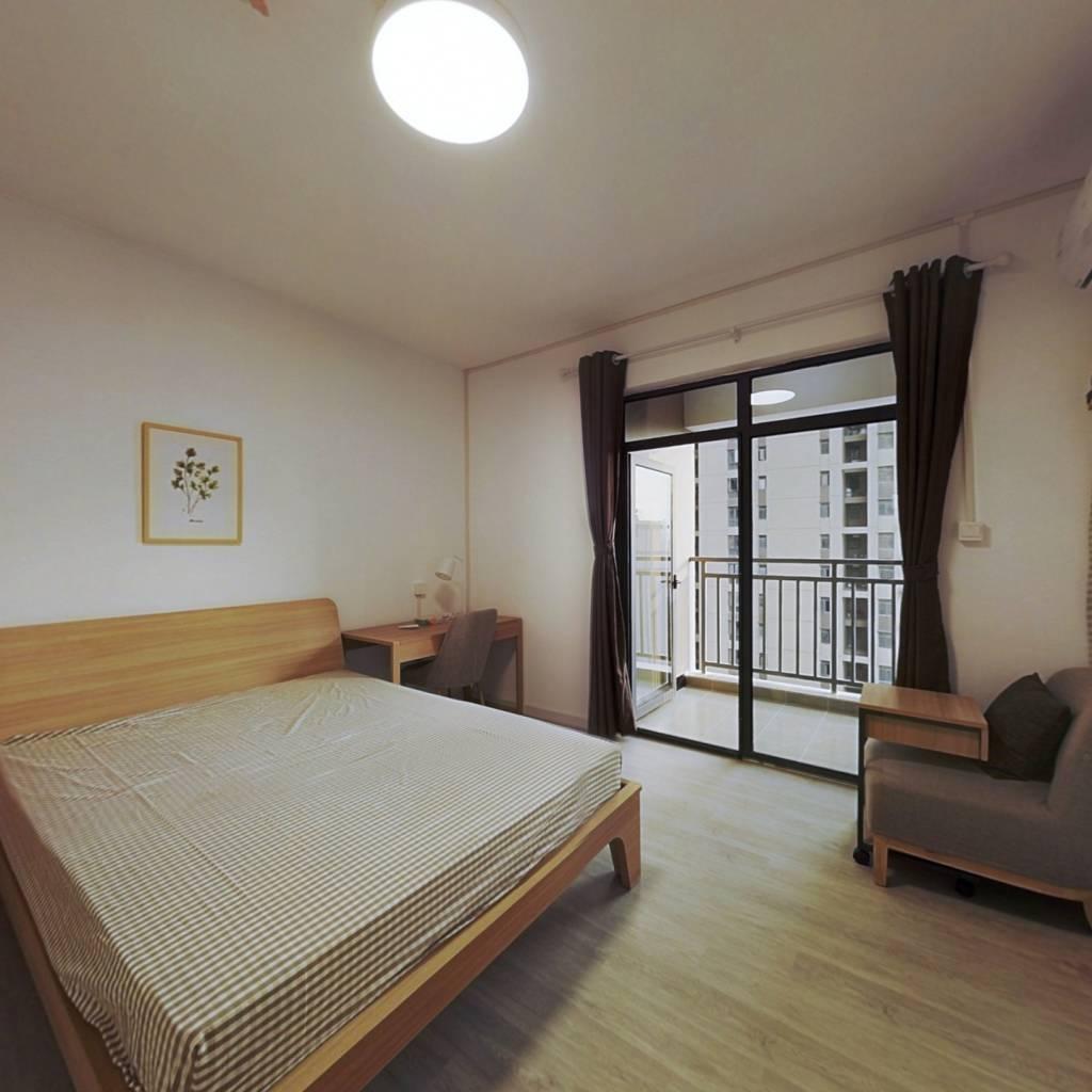 合租·国际百纳 4室1厅 北卧室图