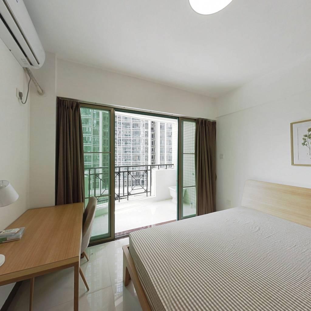 合租·东海嘉园 3室1厅 西北卧室图