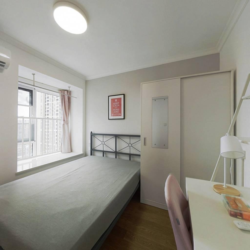 合租·万科金域时代 4室1厅 西卧室图
