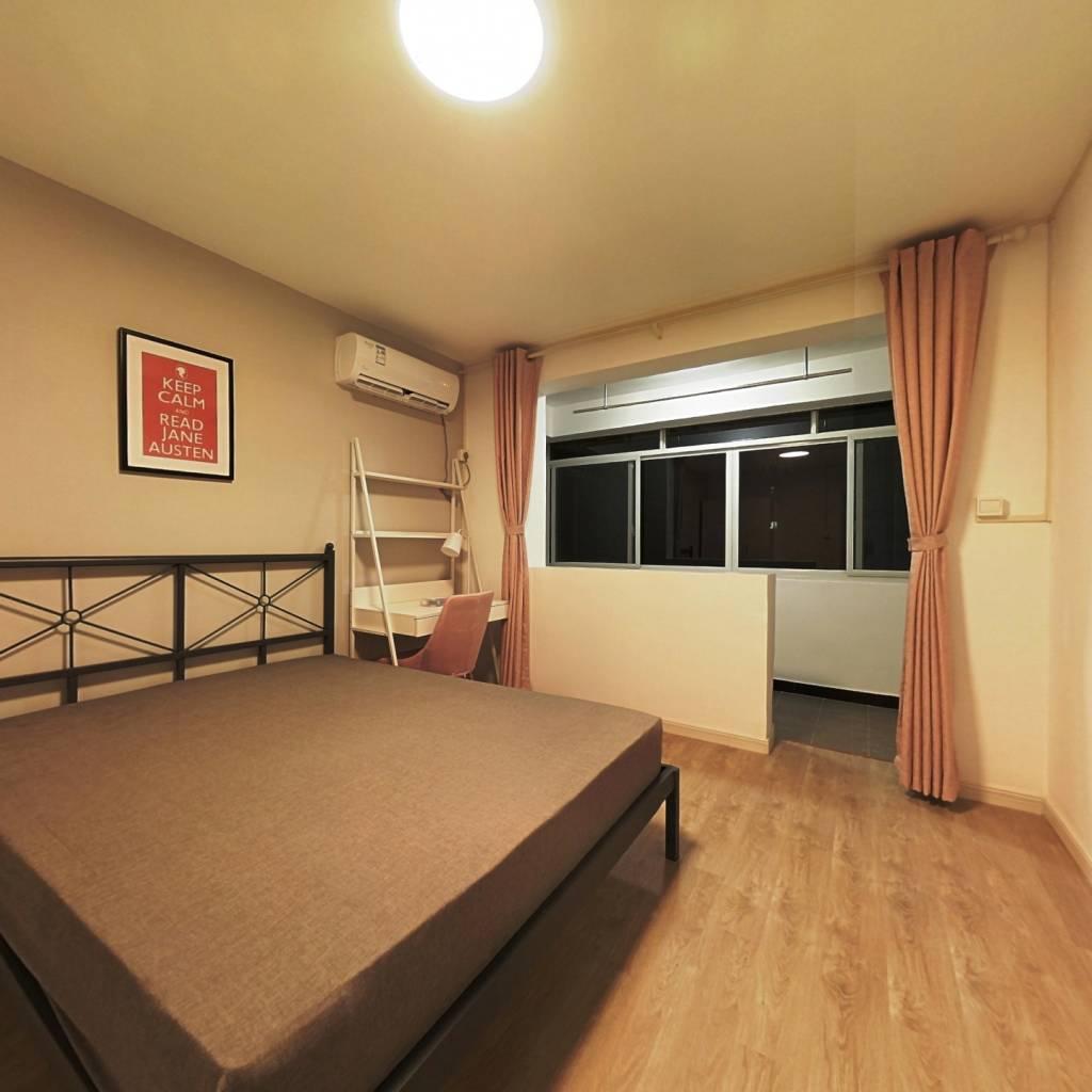 合租·龙柏七村 3室1厅 北卧室图
