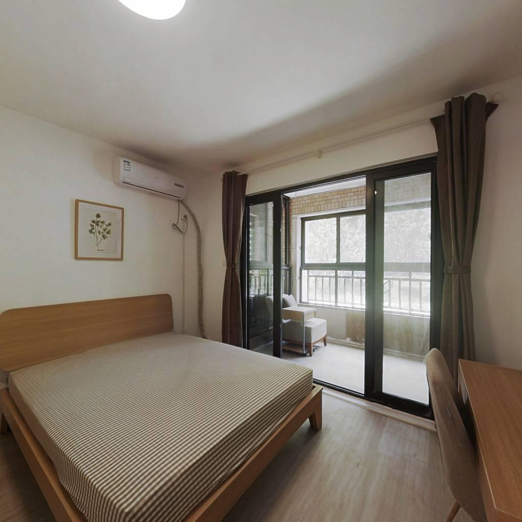 合租·中环国际公寓(三期) 3室1厅 北卧室图