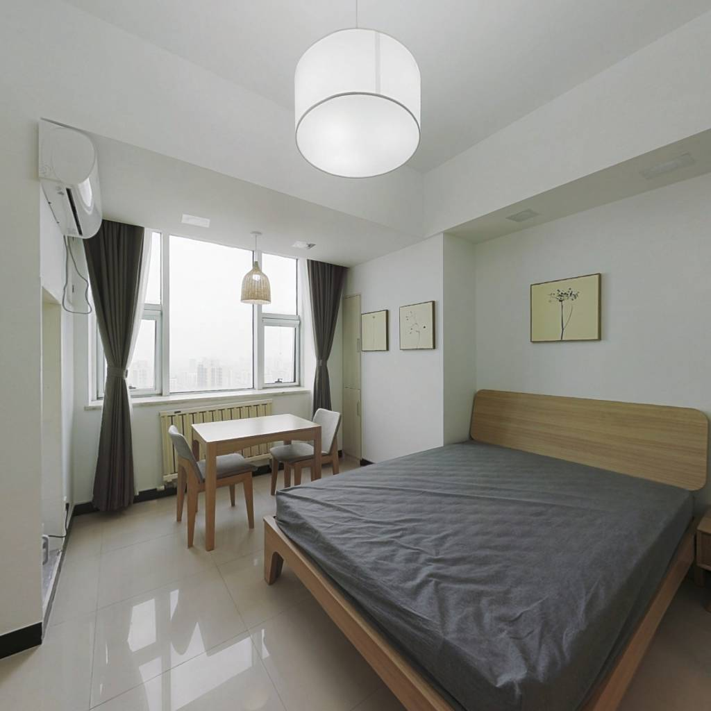 整租·如意大厦 1室1厅 南卧室图