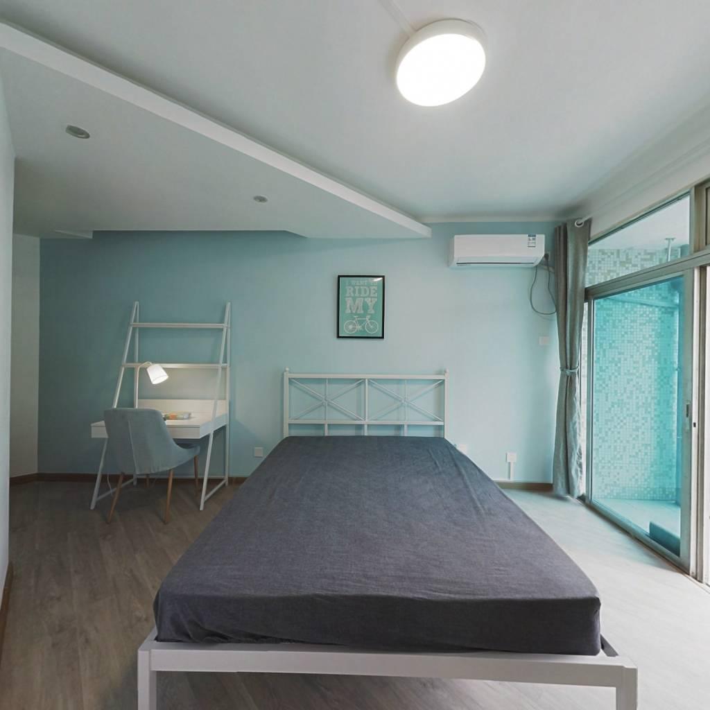 合租·华彩花园 4室1厅 东南卧室图