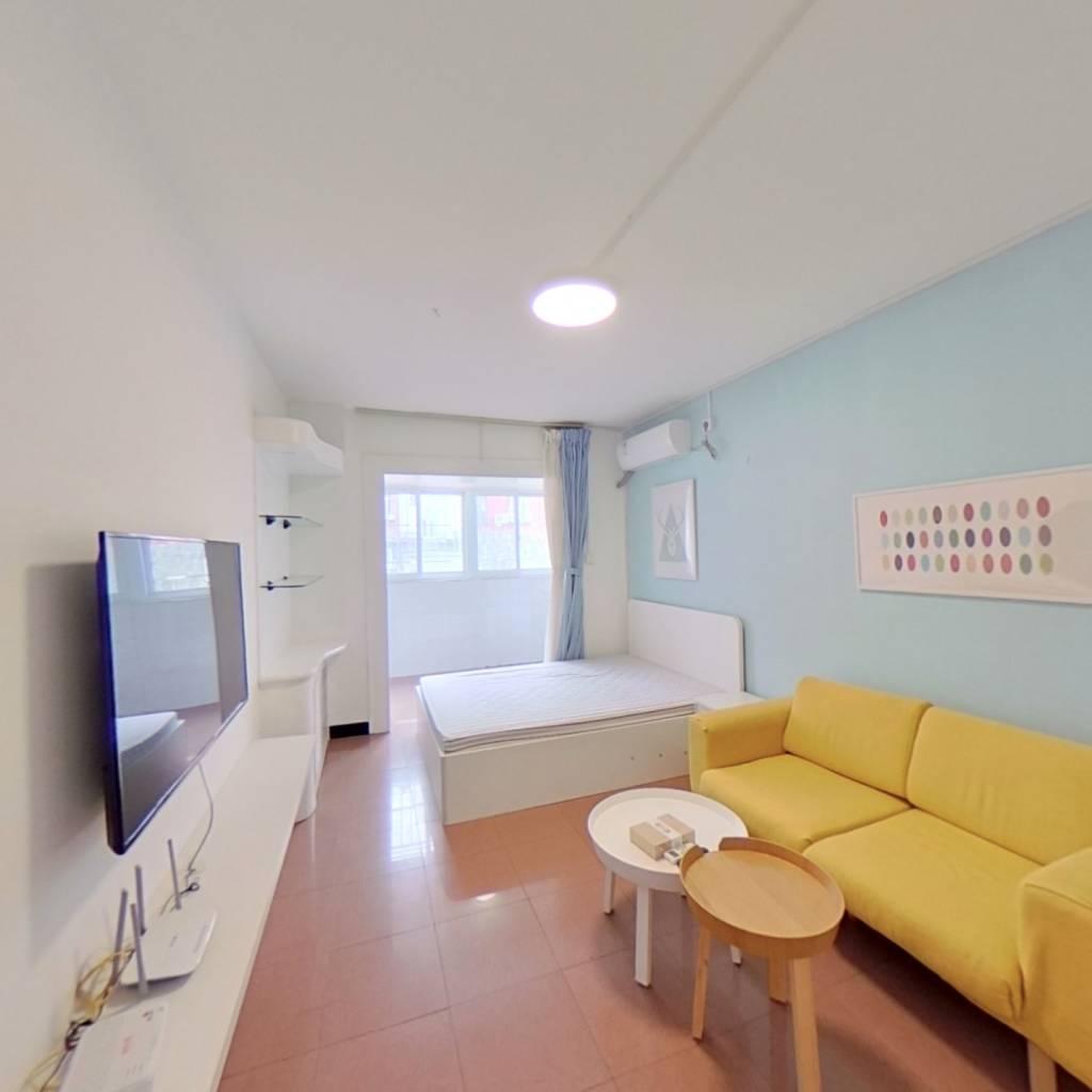 整租·北郊农场宿舍 2室1厅 南北卧室图