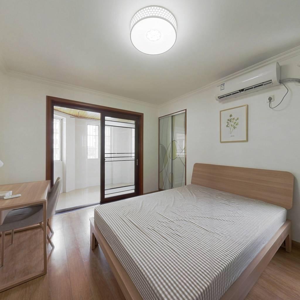 合租·云谷山庄 4室1厅 南卧室图