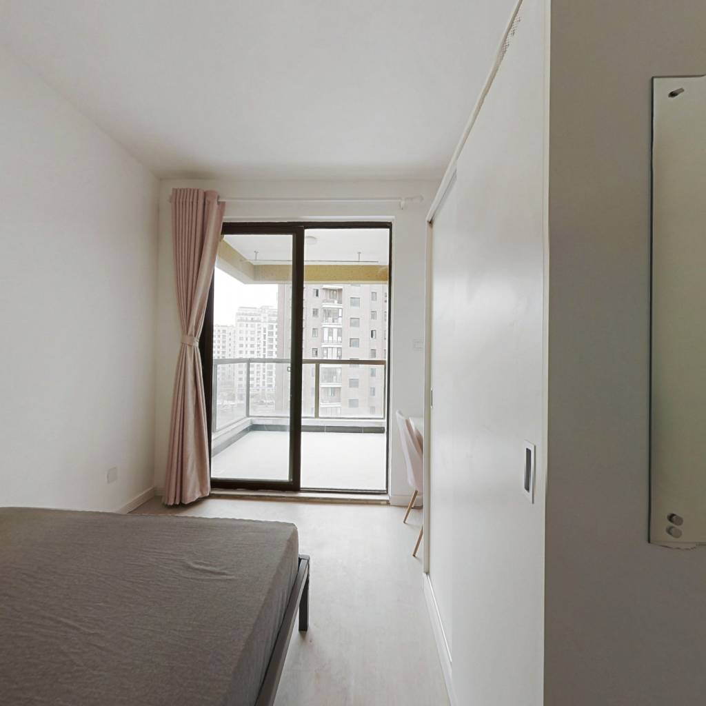 合租·花园新宸府 3室1厅 北卧室图