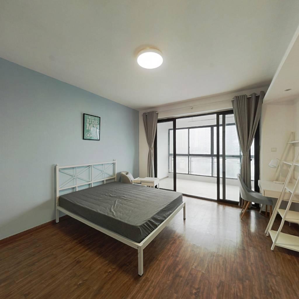 合租·成达佳园 4室1厅 西卧室图