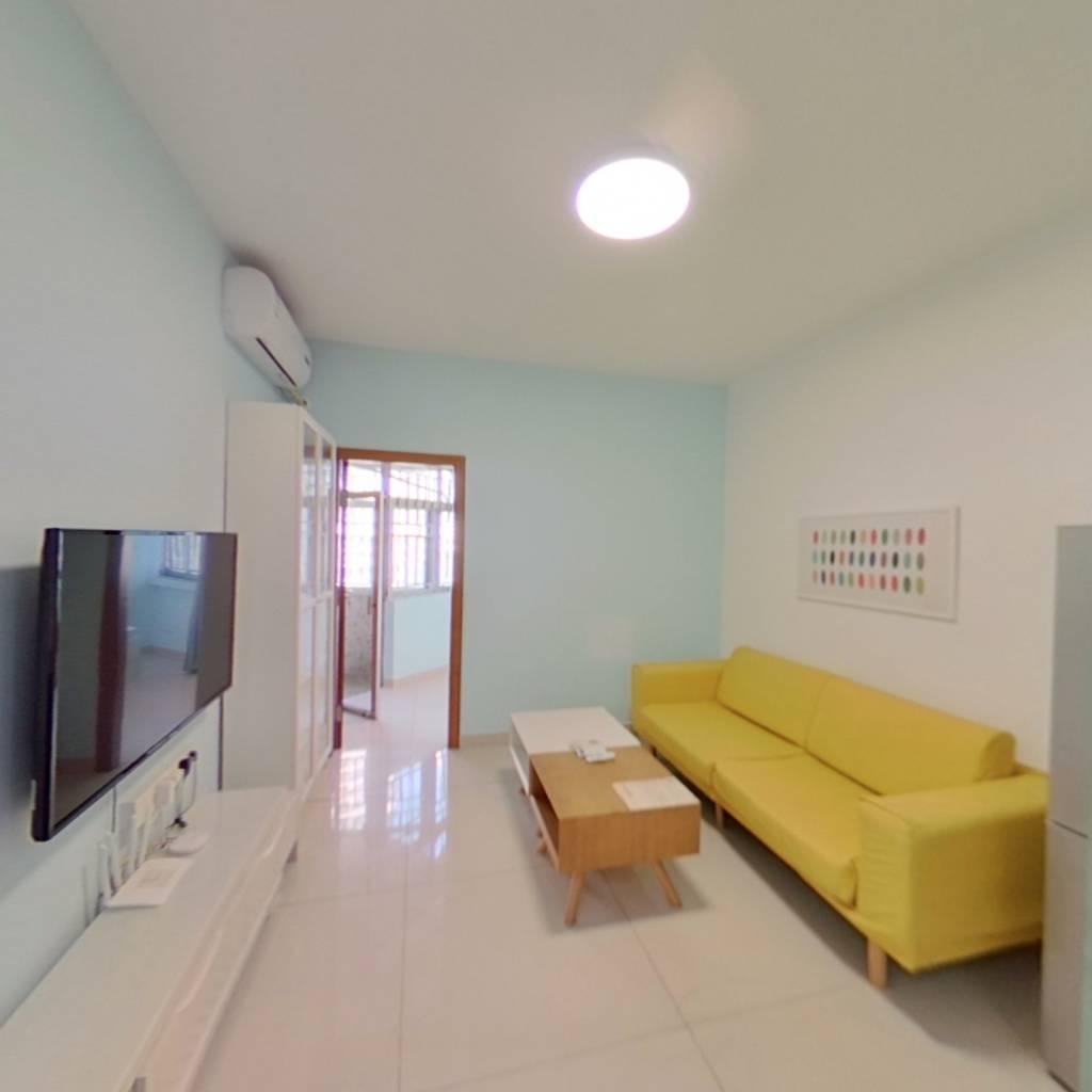整租·桃苑公寓 2室1厅 南卧室图