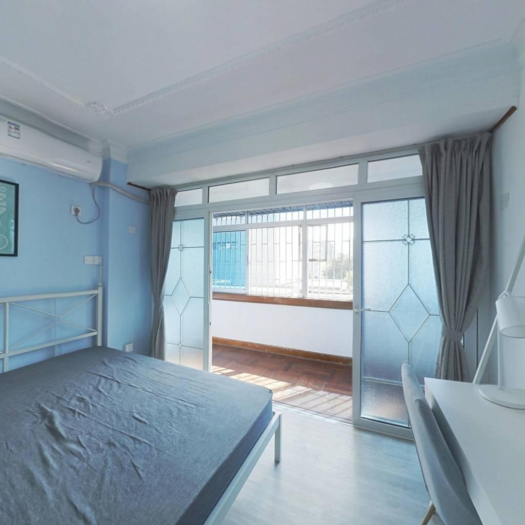 合租·艺丰花园A区 4室1厅 西卧室图