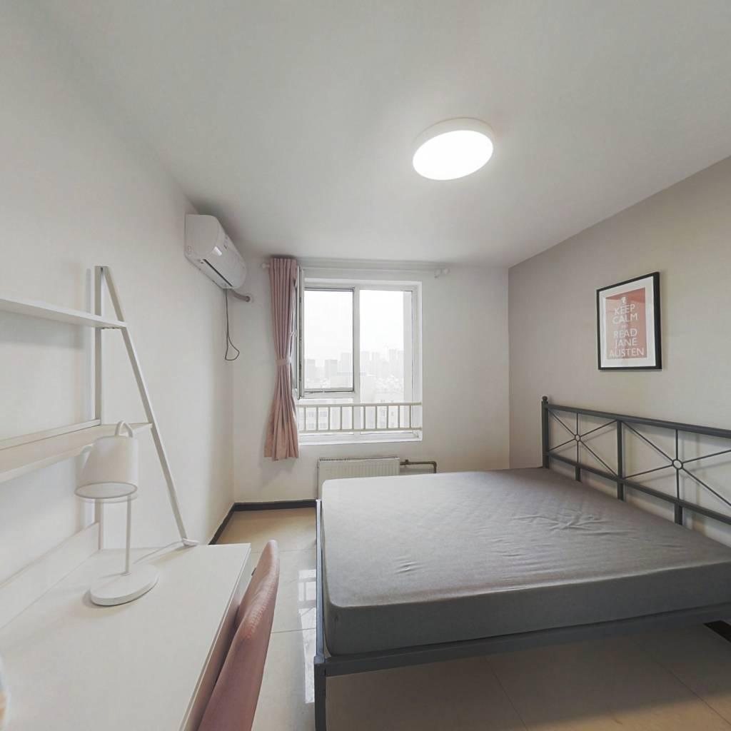 合租·京贸国际城东区 3室1厅 南卧室图