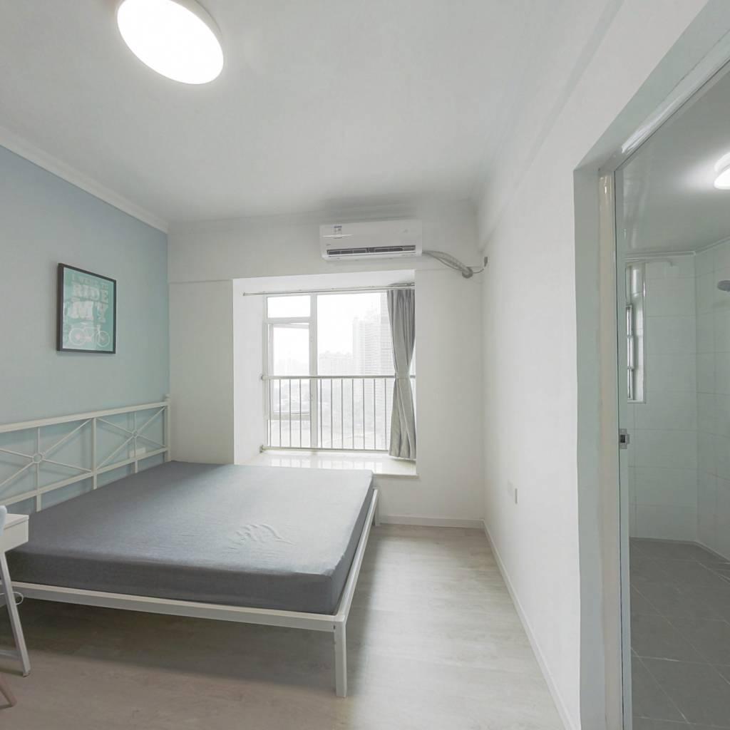 合租·泊雅湾 4室1厅 西卧室图