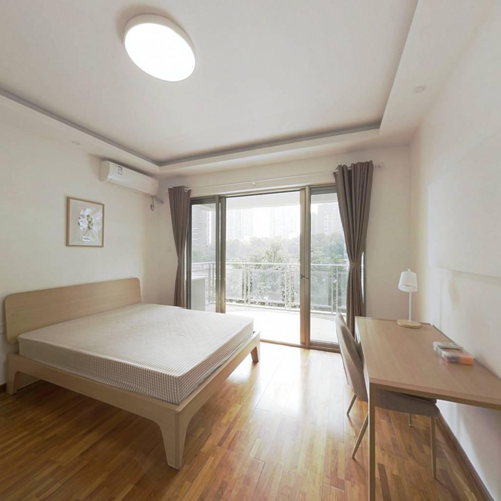 合租·海怡东方花园 5室1厅 西卧室图