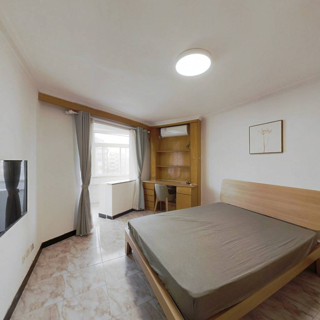 整租·东花市北里中区 1室1厅 西卧室图