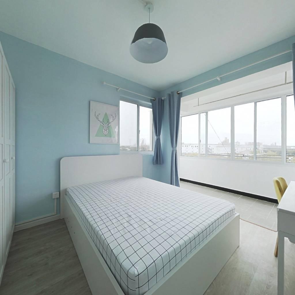 整租·沧源小区 2室1厅 西南卧室图