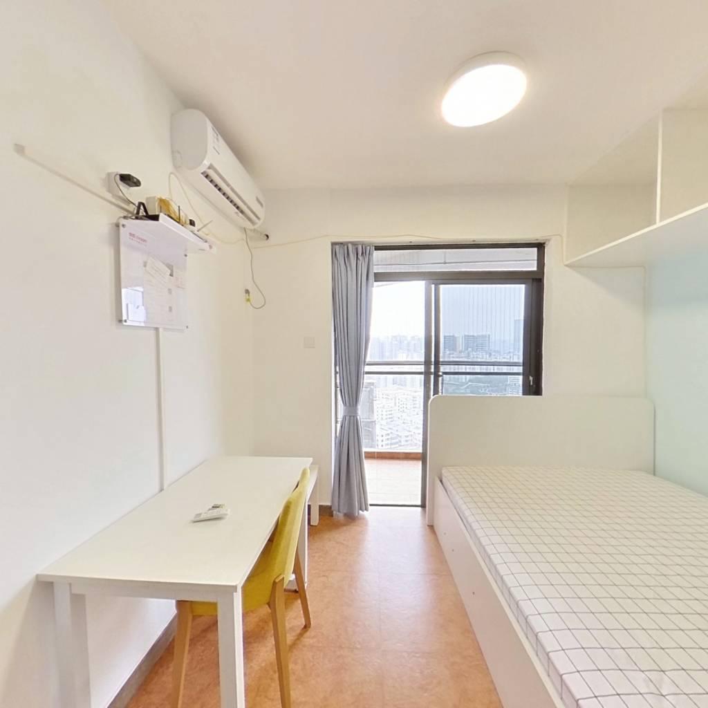 整租·前海金岸 1室1厅 北卧室图