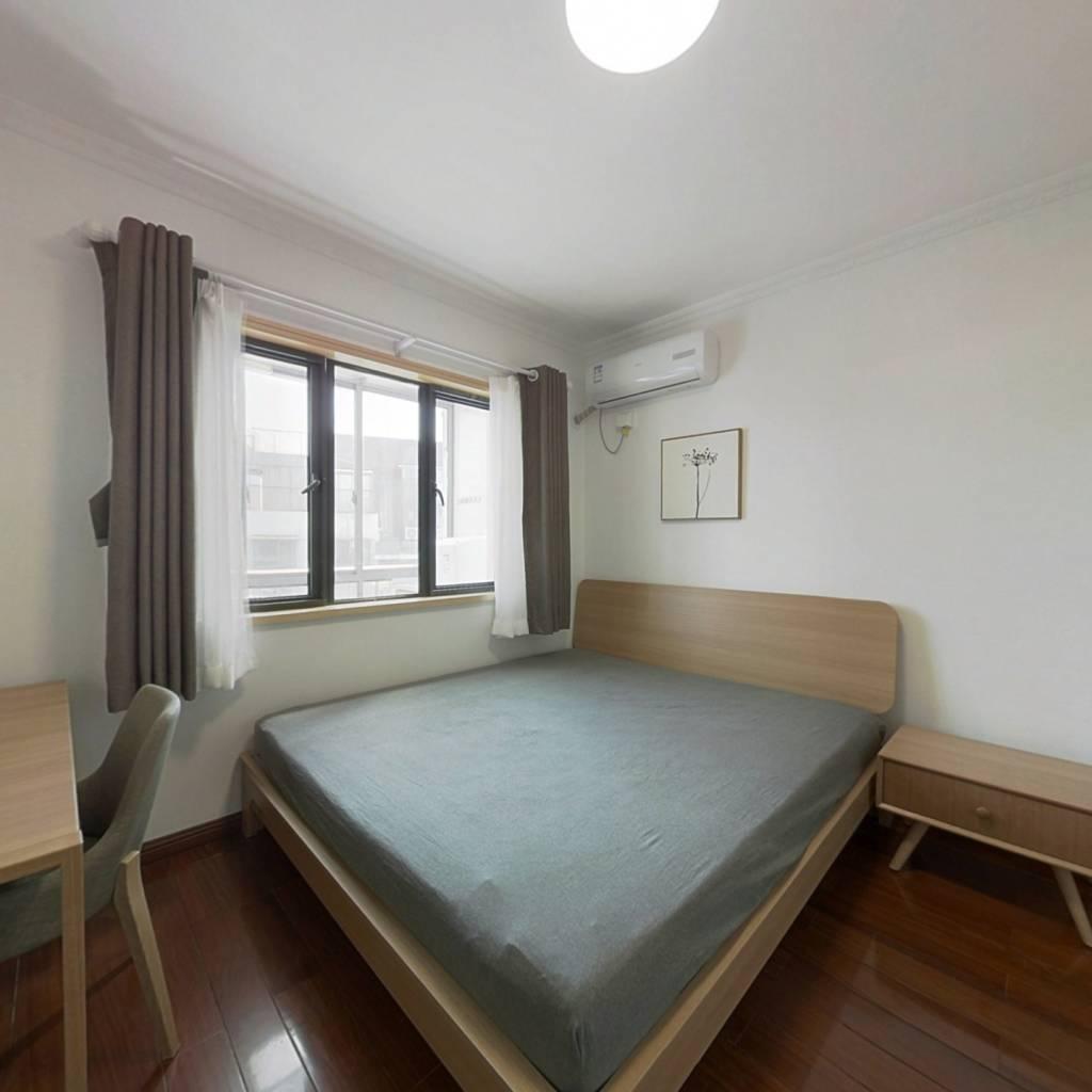 整租·花雨南庭 1室1厅 南北卧室图