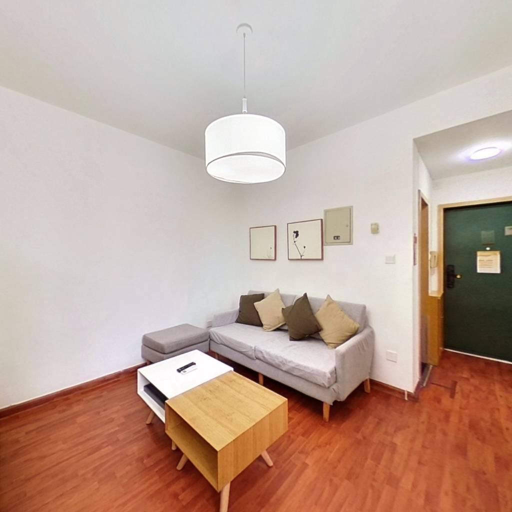 整租·现代城人民公园 1室1厅 南卧室图