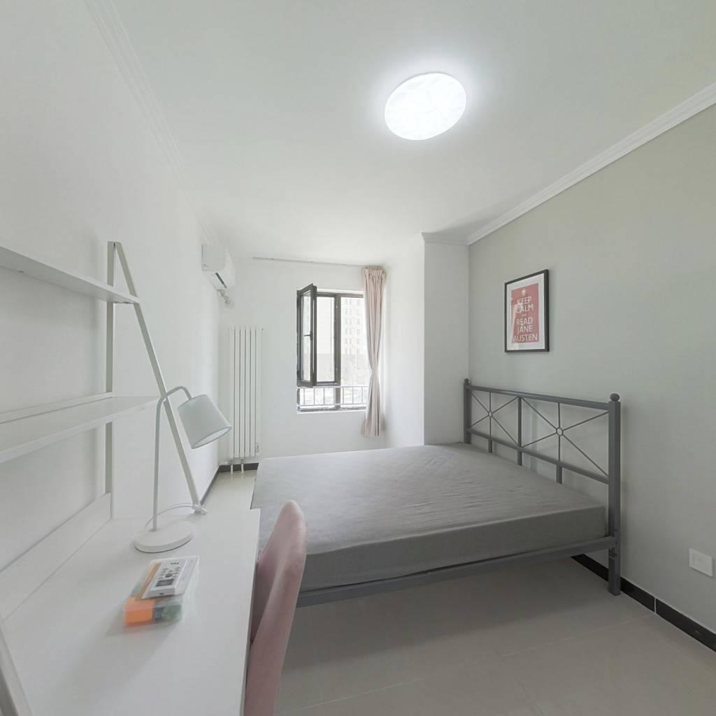 合租·中国铁建兴盛嘉苑 3室1厅 北卧室图