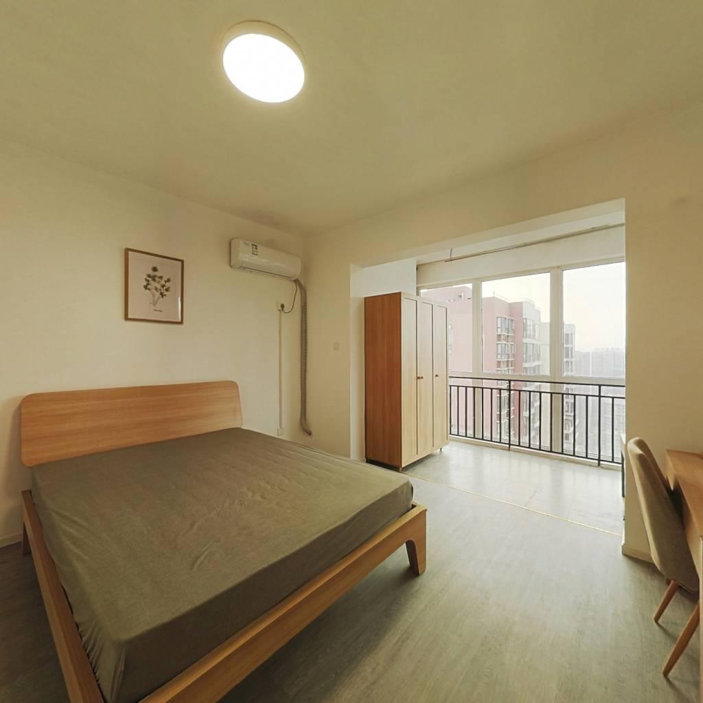 合租·首创国际城二期 5室1厅 北卧室图