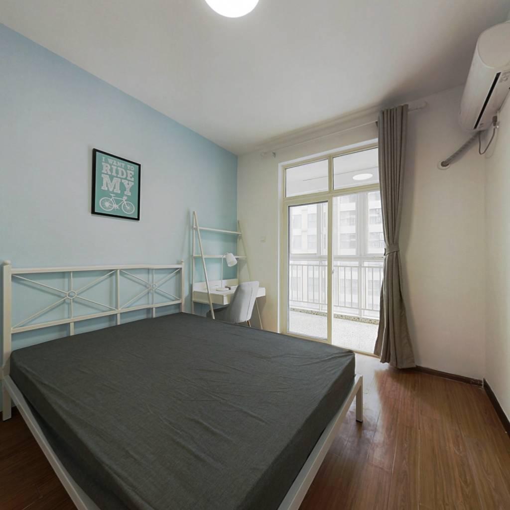 合租·兴元华盛二期 3室1厅 南卧室图